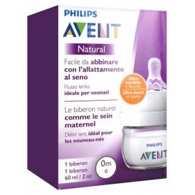 Avent Natural Biberon 60 ml 0 Mois et +