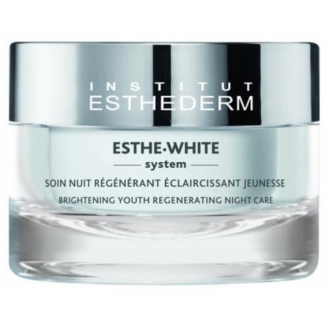 Esthederm Esthe-White System Soin Nuit Régénérant Éclaircissant Jeunesse 50 ml