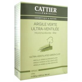 Cattier Argile Verte Ultra-Ventilée 250 g