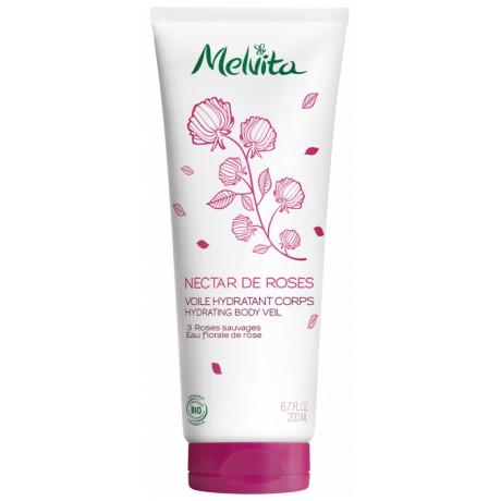 Melvita Nectar de Roses Voile Hydratant Corps Bio 200 ml