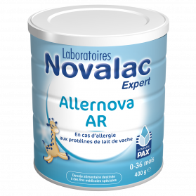 Novalac lait allernova AR PAX 0 à 36 mois 400g
