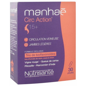 Manhaé Circ Action 15+ 30 Gélules