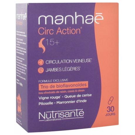 Manhaé Circ Action 15+ 30 Gélules