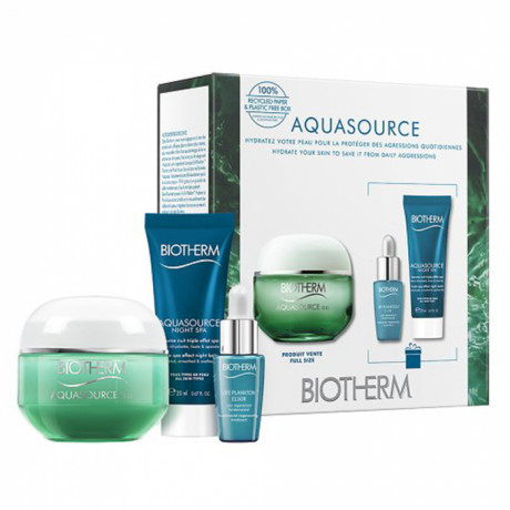 Biotherm coffret aquasource gel peau normal mixte 2021