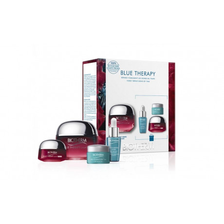 Biotherm coffret anti-âge blue therapy red algae 2021
