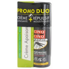 Cinq sur Cinq Duo Crème Apaisante 3en1 40 g + Tropic Lotion Anti-Moustiques 75 ml