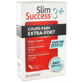 NUTREOV SLIM SUCCESS 3 + COUPE-FAIM EXTRA-FORT 30 GELULES