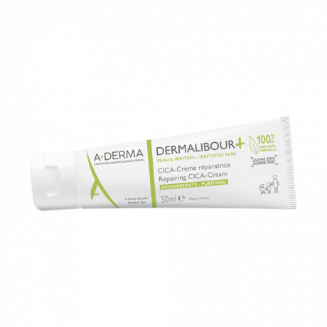 A-derma dermalibour+ cica-crème réparatrice 50ml