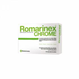 Romarinex chrome aux plantes 20 ampoules