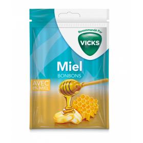 VICKS Bonbon miel sachet de 72g