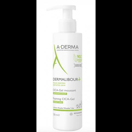 A-DERMA dermalibour+ cica-gel moussant 200ml