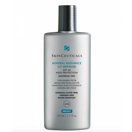 Skinceuticals Mineral Radiance UV defense Protection solaire teintée SPF50 50ml