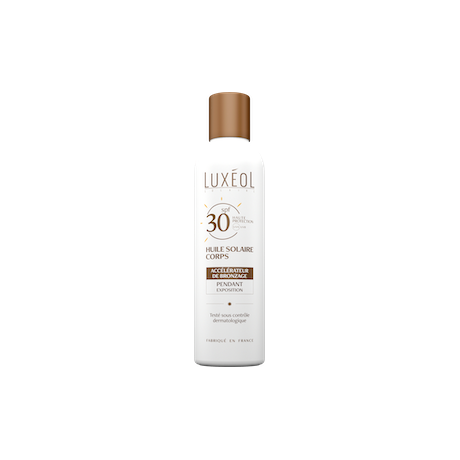 Luxéol Huile solaire corps SPF30 150ml