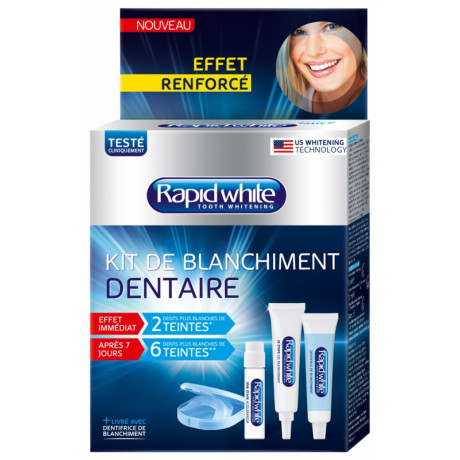 Rapid White Kit de Blanchiment Dentaire