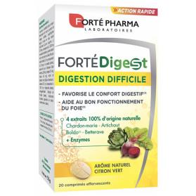 Forté Pharma Forté Digest 20 Comprimés Effervescents