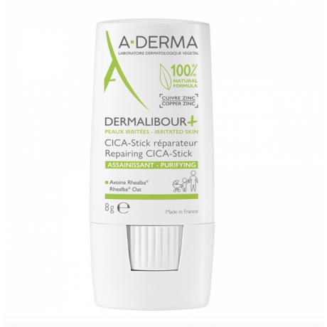 A-DERMA Dermalibour + CICA stick réparateur 8g