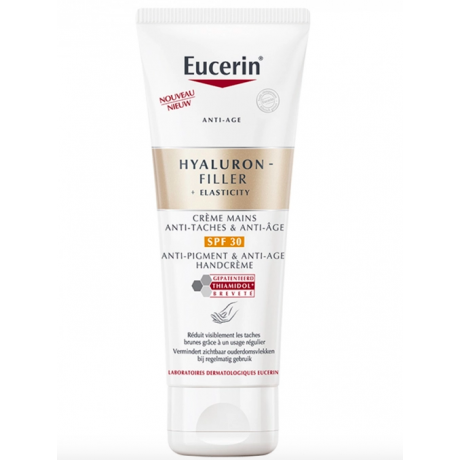 Eucerin Hyaluron Filler + Elasticity crème mains anti-taches et anti-age 75ml
