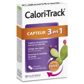 Nutreov Calori Track Capteur 3en1 30 Comprimés
