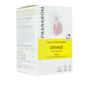 Pranarom huile végétale Grenade 60 capsules