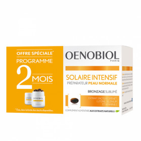 Oenobiol solaire intensif nutriprotection peau normal 2x30 capsules