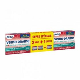 ALVITY Veino-draine lot de 3x30 gélules