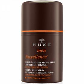 Nuxe Men Nuxellence Fluide Anti-Âge Rechargeur Jeunesse et Énergie 50 ml