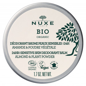 Nuxe Bio Déodorant Baume Peaux Sensibles 24H 50ml
