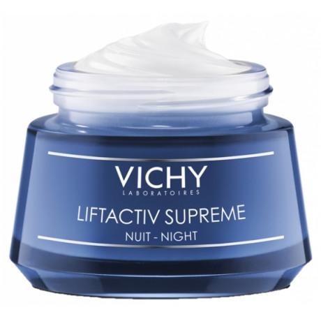 Vichy LiftActiv Supreme Soin Correcteur Anti-Rides et Fermeté Nuit 50 ml
