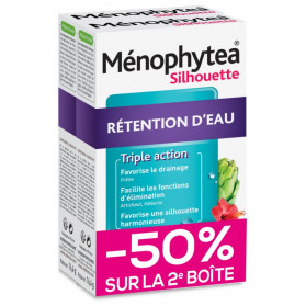 Nutreov Ménophytea Silhouette Rétention d'Eau Lot de 2 x 30 Comprimés