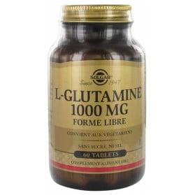 Solgar L-Glutamine 1000 mg Forme Libre 60 Comprimés