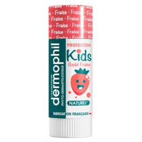Dermophil Indien Kids Protection Lèvres 4 g - Parfum : Fraise