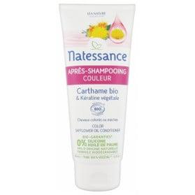 Natessance Après-Shampoing Couleur Carthame Bio & Kératine Végétale 200 ml