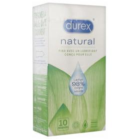 Durex Natural 10 Préservatifs