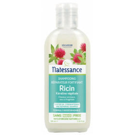 Natessance Shampoing Réparateur Fortifiant Ricin 100 ml