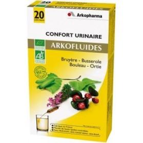 Arkofluides Confort urinaire Bio 20 ampoules buvables de 15ml