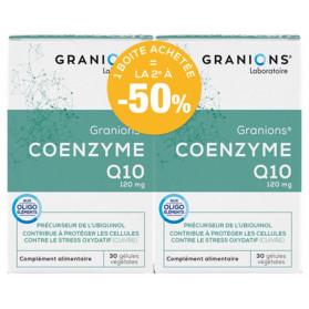 Granions Coenzyme Q10 120 mg Lot de 2 x 30 Gélules