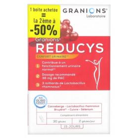 Granions Réducys Confort Urinaire Lot de 2 x 30 Gélules
