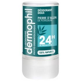 Dermophil Indien Déodorant Doux Pierre d'Alun 24H 115 g