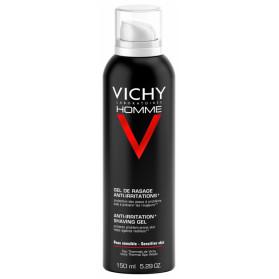 Vichy homme gel de rasage − anti−irritations 150ml