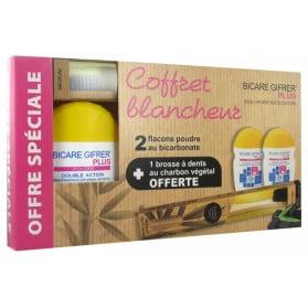 Gifrer Trousse Bicare Plus Bicarbonate de Soude + Bromélaïne Lot de 2 x 60 g + Dentifrice 12 ml