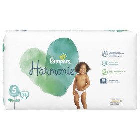Pampers Harmonie 58 Couches Taille 5 (11+ kg)