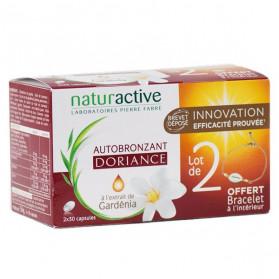 Naturactive Doriance Autobronzant Lot de 2x30 capsules + Bracelet Offert