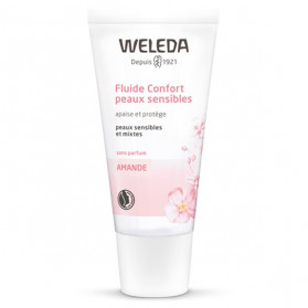 Weleda Amande Fluide Confort Peaux Sensibles 30ml