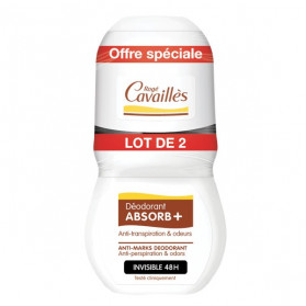 Rogé Cavaillès Déo-Soin Anti-Traces Roll-On Lot de 2x50ml