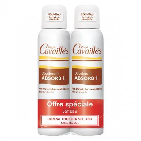 Rogé Cavaillès Déo-Soin Régulateur Spray Homme Lot de 2 x 150 ml