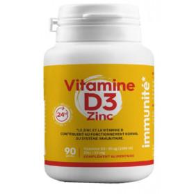 Pharmabest Vitamine D3 + Zinc 90 gélules