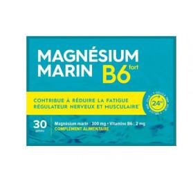 Pharmabest Magnésium Marin Vitamine B6 fort 30 gélules
