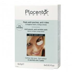 Placentor Pads Yeux Anti-Poches Anti-Rides boite de 6