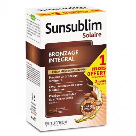 Nutreov Sunsublim Bronzage intégral 90 capsules