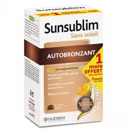 Nutreov Sunsublim Autobronzant 84 capsules